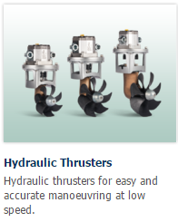 Craftsman Hydraulic Bow Thrusters