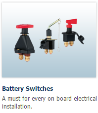 Battery isolation switches